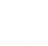 Atrius™ Ready white logo