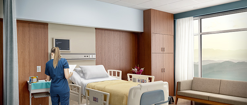 hospital room application image