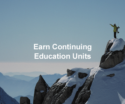 Earn Continuing Education Units