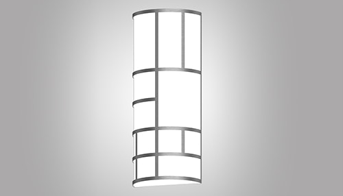 Healthcare-hcl-silhouette-hpss2-pattern-vertical-wall-sconce