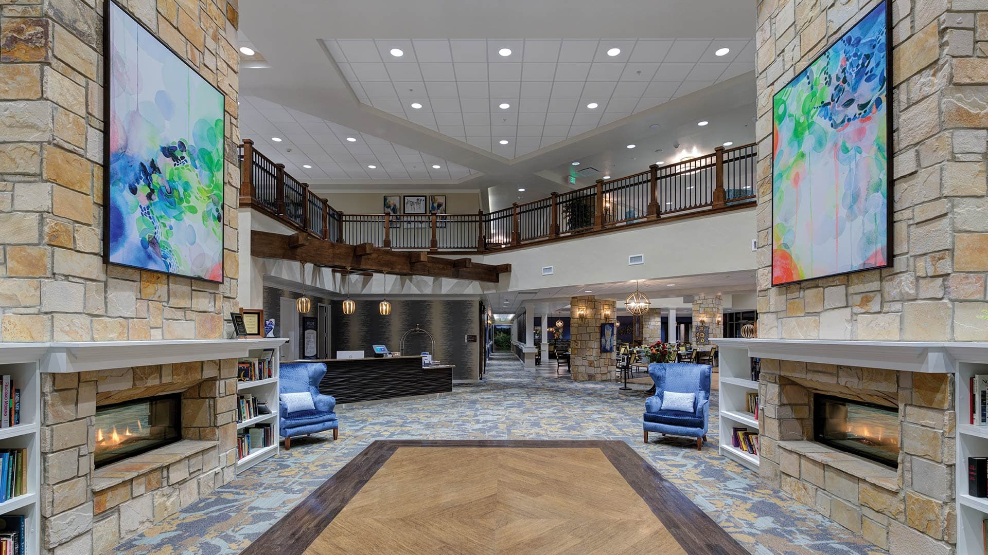 Creekside Assisted Senior Living Acuity Brands Inspiration Board Residential Featured Projects