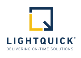 LightQuick Delivering On-Time Solutions logo