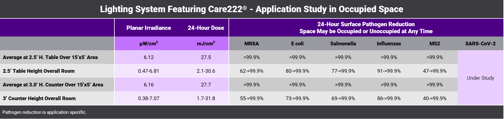 Care222-ApplicationStudy-Table